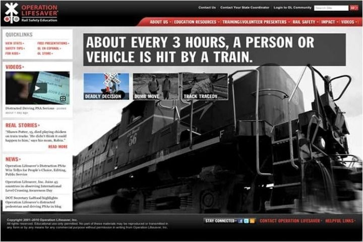 Operation Lifesaver launches new Website