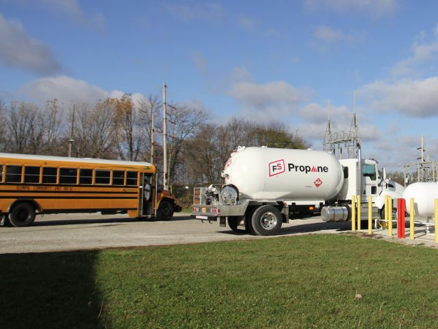 Illinois district grows propane school bus fleet