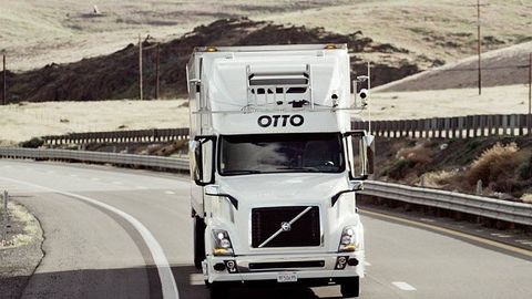 A company called Otto is currently testing self-driving trucks, which it touts as a way to avoid...