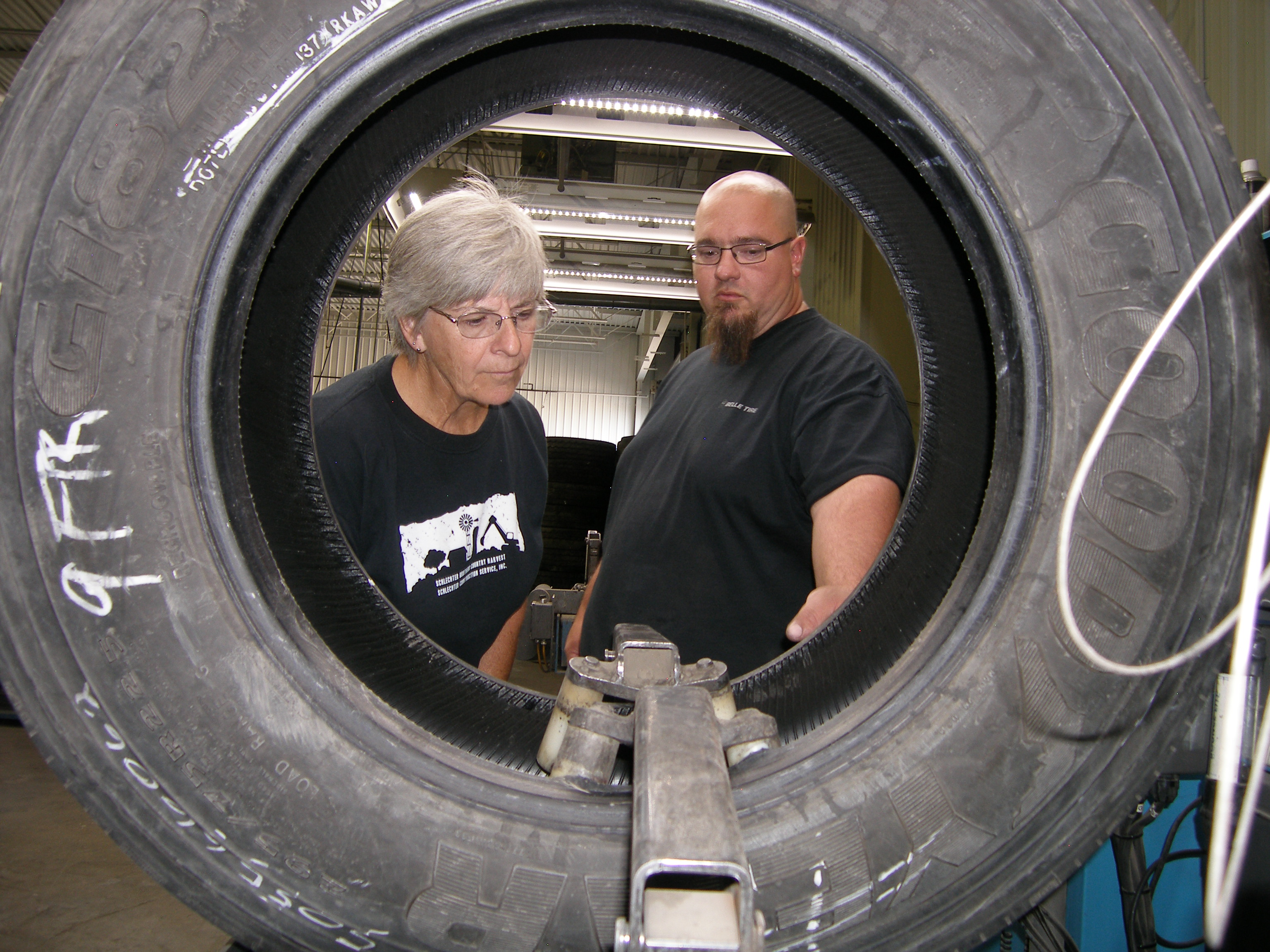 Belle Tire shows retreading value at open house