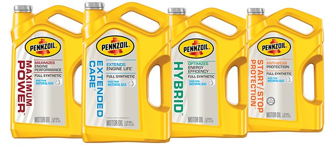 Shell Lubricants Has 4 New Pennzoil Synthetic Motor Oils