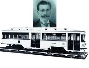 Perley Thomas opened Perley A. Thomas Car Works in 1916. The company manufactured streetcars until 1936, when it began producing school buses. Perley served as a design consultant for the company, now known as Thomas Built Buses, until his death in 1958.