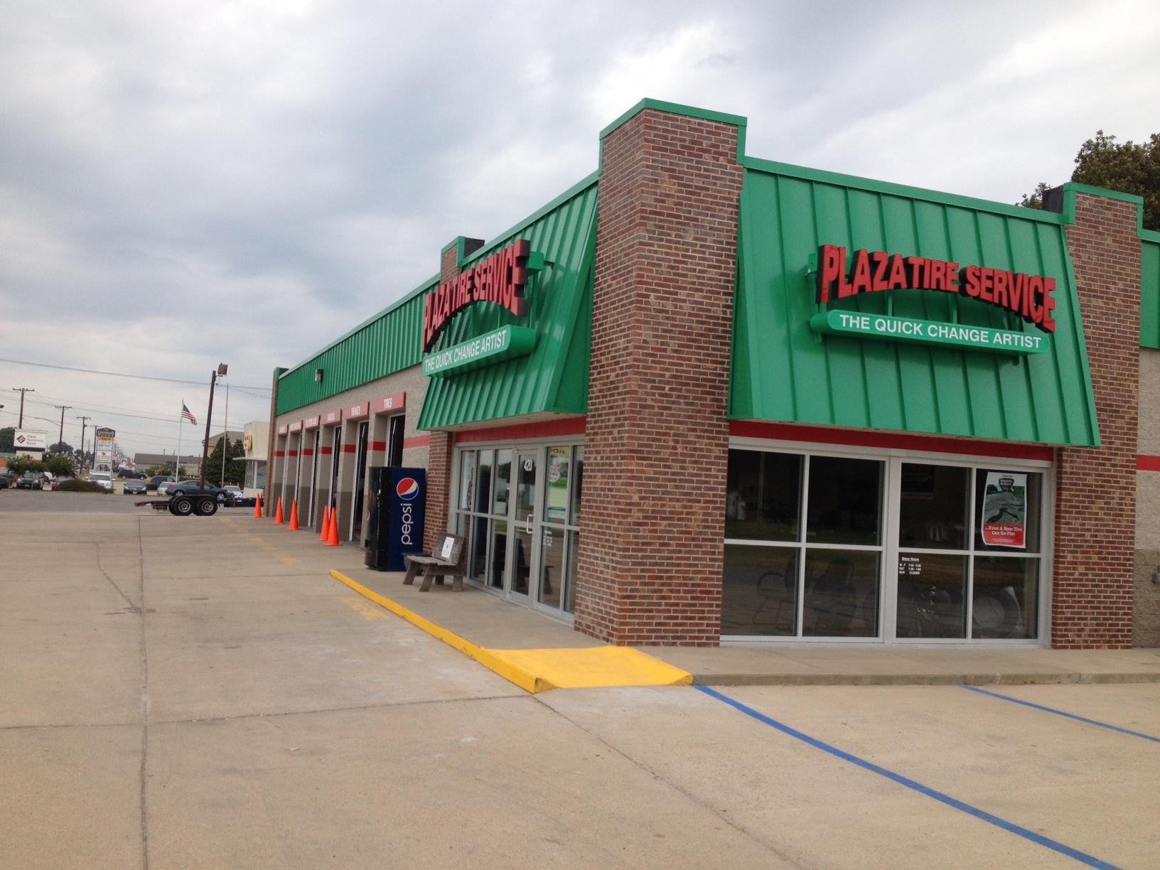 Plaza Tire opens rebuilt Kennett location