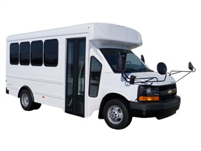 Starcraft's new multi-function school activity bus, the Prodigy XP, offers steel-cage construction, seat belts and air conditioning among its standard features.