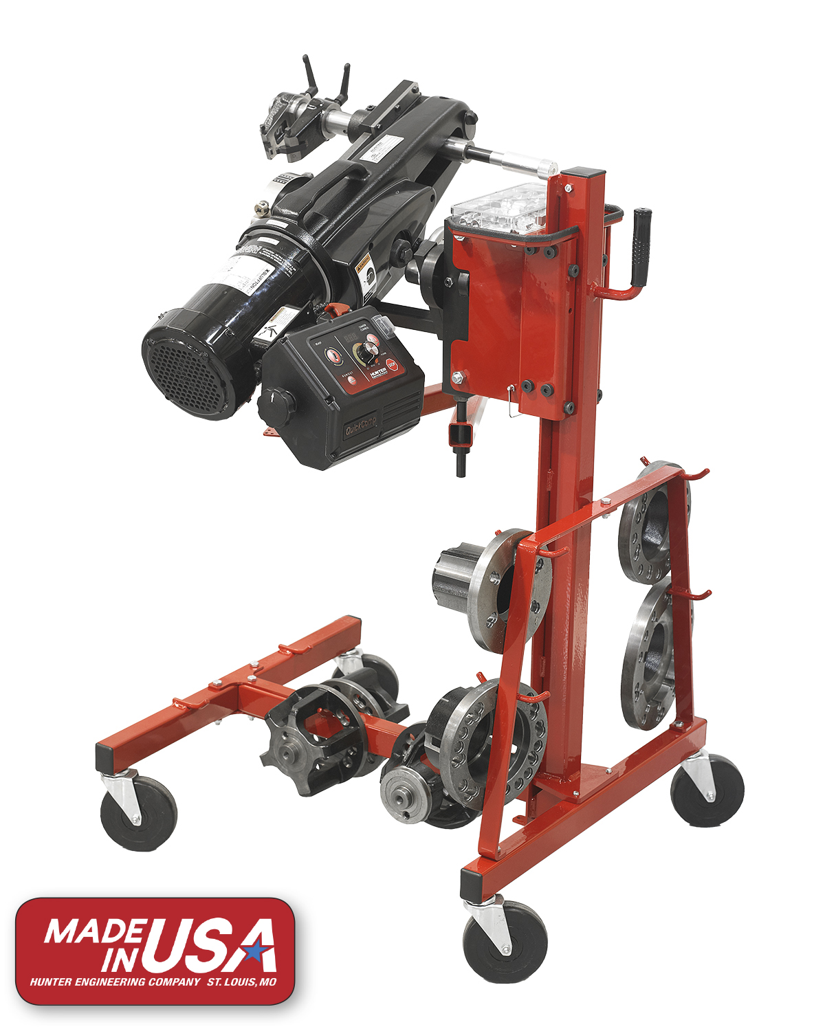 SEMA Show, Day Two: Hunter's QuickComp lathe is now made in the USA