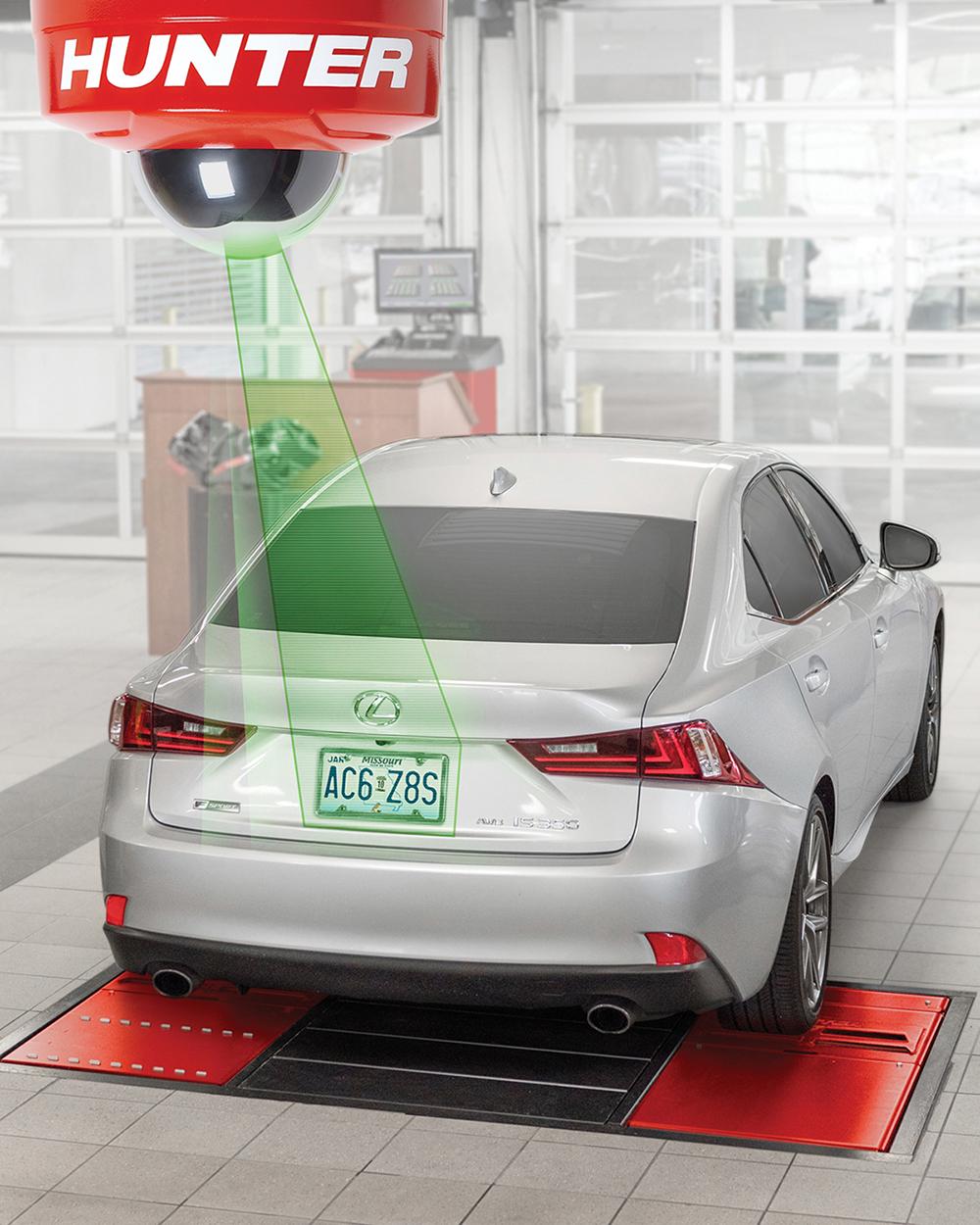 Hunter's Quick ID Technology Automates Vehicle Identification