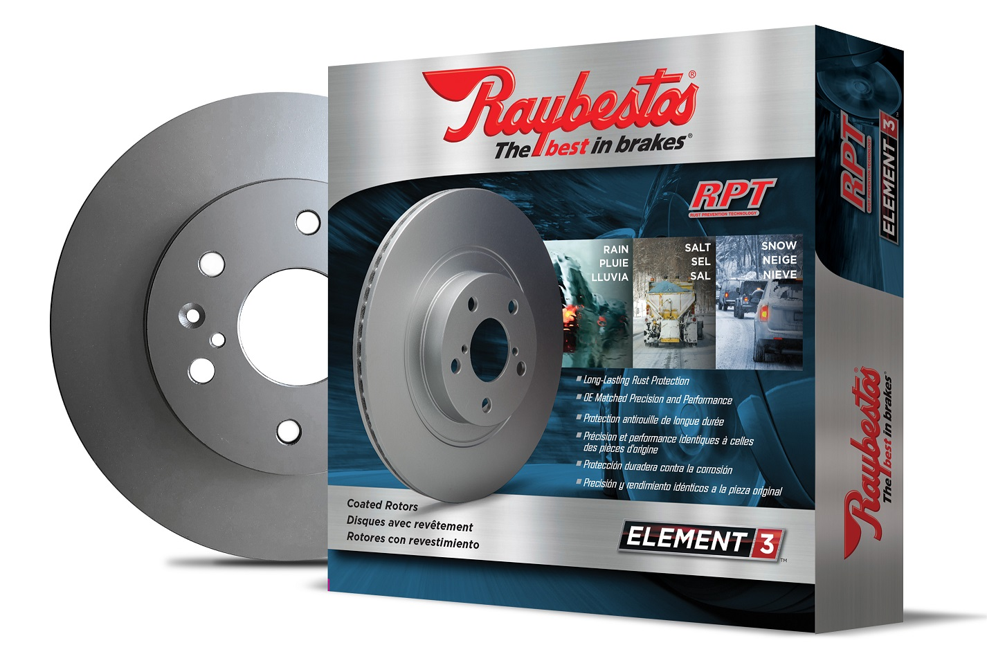 BPI Expands Coverage of Raybestos Element3 Coated Rotors