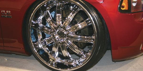 There is no way to determine if this custom tire and wheel package is within industry guidelines...