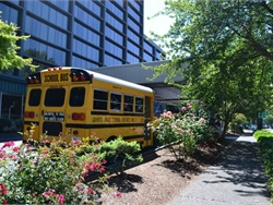 Eugene was looking yellow and green — a good fit for University of Oregon fans — during the Oregon Pupil Transportation Association's (OPTA's) 2018 conference, held June 19 to 23.