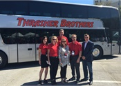ABC delivers Van Hool double-decker coach to Thrasher Brothers