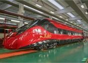 Alstom, NTV unveil the first Pendolino Italo railcar