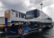 Alstom delivers first metro cars for additional Panama fleet