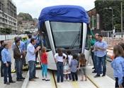 Alstom delivers first Citadis tram to Rio de Janeiro