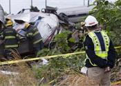 NTSB photos: Amtrak #188 derailment site in Philadelphia