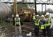 NTSB issues update on Philadelphia Amtrak crash investigation