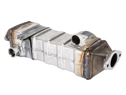Bullet Proof Diesel's new line of EGR coolers are available for Cummins ISB, ISC (shown here), ISL, QSL, and L9 engine platforms.