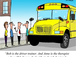 Photo Gallery: Have a Laugh at Our School Bus Toons