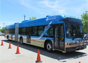 BYD, AVTA unveil first 60-ft. artic battery-electric bus