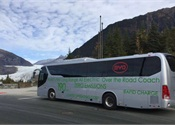 Alaska Coach Tours test fully-electric BYD motorcoach