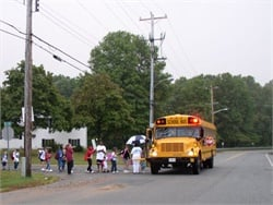 State grants in Maryland will pay for education programs and for police overtime to patrol when school buses are on the road. Photo by Bob Markwardt