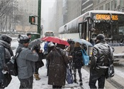N.Y. MTA prepares for snowstorm with army of workers, heavy equipment