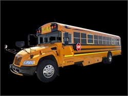 Blue Bird's gasoline-powered Type C school bus is now certified to the federal standard of 0.20 g/bhp-hr for NOx emissions.