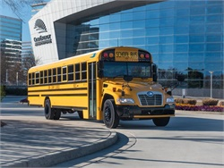 Blue Bird cites lower upfront costs and maintenance savings as key factors in the growing sales of its Vision Gasoline school bus.