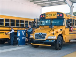 Blue Bird's Vision Gasoline bus is now certified to the federal standard for NOx emissions. Cobb County (Ga.) School District was an early adopter of the gasoline Type C model.