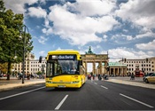 Berlin launches electric buses equipped with Bombardier charging systsem