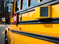 Chesapeake (Va.) Public Schools will equip more than 500 of its buses with new safety technology, which will include stop-arm cameras and Zonar's smart fleet technology. Photo courtesy BusPatrol