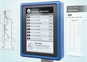 CHK America and E Ink debut digital bus stops