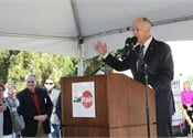 Caltrain hosts groundbreaking for electrification project