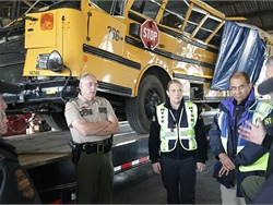 The Dash Group, a consulting firm, gave a grant to a Tennessee school district to use The Judgment Index, a tool that is designed to assess the judgment skills of potential school bus drivers. NTSB photo by Nicholas Worrell