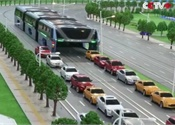 Chinese company unveils 'Transit Elevated Bus'