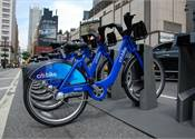 Biking to N.Y. airport faster than public transport