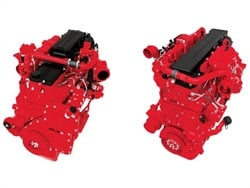 As an initial effort in its SmartEfficiency initiative, Cummins announced optimized gearing recommendations for its ISL9 (left) and ISX12 diesel engines for motorcoach operators.