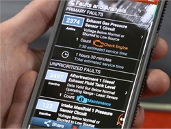 The new Guidanz app gives customers key information about their Cummins engines.