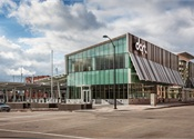 [Photos] Tour DART's LEED Platinum-certified Central Station