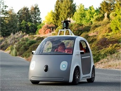 A new committee will address the development and deployment of automated vehicles and the DOT's related research and regulations. Seen here is a Google self-driving car prototype.