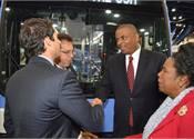 Anthony Foxx visits APTA EXPO Exhibitors