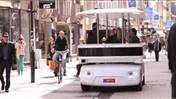 Navia electric driverless shuttle takes a spin in Luxembourg