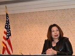 U.S. Sen. Tammy Duckworth (D-IL) talked about the School Bus Safety Act of 2019 (H.R. 3959) that she co-sponsored with Rep. Steve Cohen (TN-09).