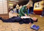 Importance of equipping public transit with defibrillators