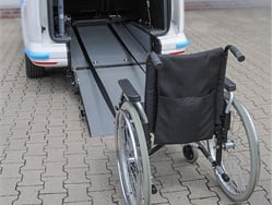 Winch System for Wheelchairs
