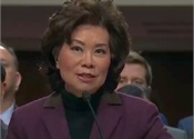 Chao confirmed as new Secretary of Transportation