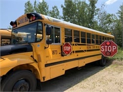 Regional School Unit 57 in Waterboro, Maine, has added nine extended stop arms to its school bus fleet. Photo courtesy Matt Kearns