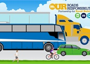FMCSA campaign to raise awareness about sharing the road with buses
