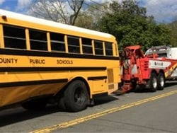 At the time of the crash, there were about 40 students and five adults on the bus, which was returning from a field trip.