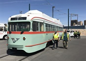 El Paso receives first of 6 restored vintage streetcars