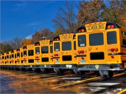 A new report by Onvia found that outsourcing of school transportation service is one of the fastest-growing areas in government contracting. Photo courtesy Fullington.